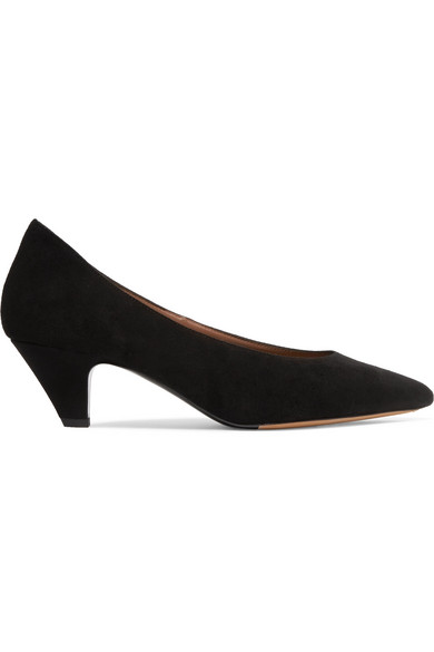TABITHA SIMMONS BELLA SUEDE PUMPS