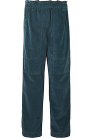Brunello Cucinelli Cotton-velvet pants