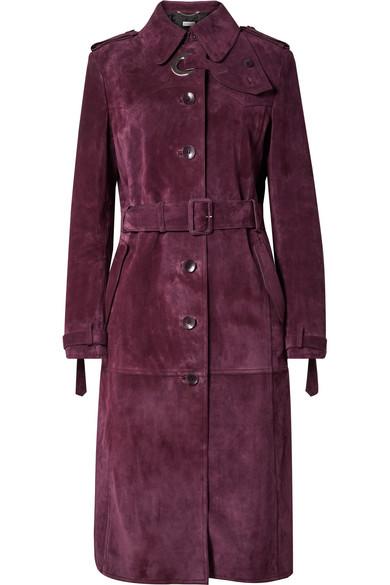Belted Suede Coat by Altuzarra