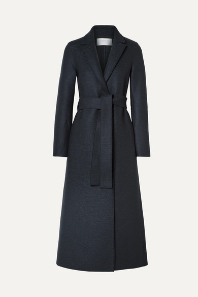 Belted Wool Coat by Harris Wharf London