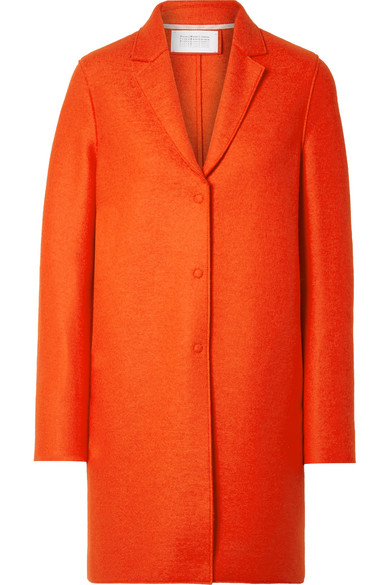 OVERSIZED WOOL-FELT COAT