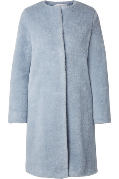 Alpaca And Wool Blend Coat by Harris Wharf London