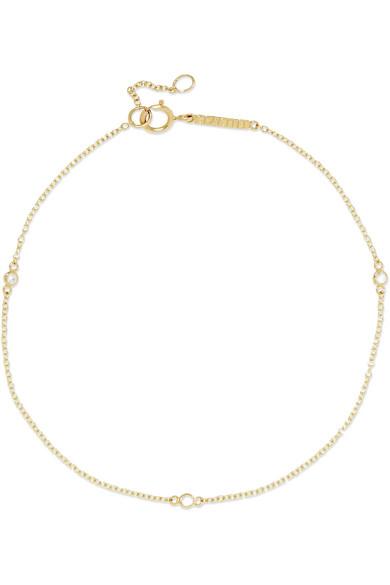 GRACE LEE Diamond Dot 14-Karat Gold Diamond Bracelet