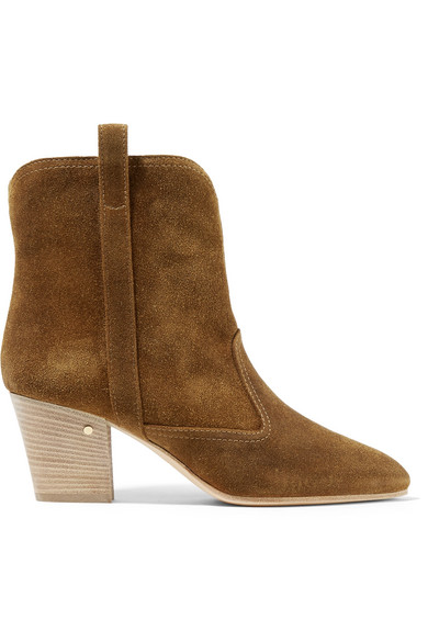 Laurence Dacade SHERYLL SUEDE ANKLE BOOTS