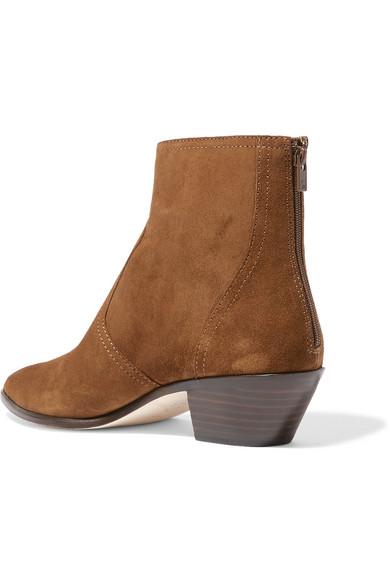 Loeffler Boots Randall | Joni Ankle Boots Loeffler aus Veloursleder 909c07