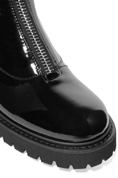 c9bcc10e4d200 Giuseppe Zanotti | Patent-leather combat boots | NET-A-PORTER.COM