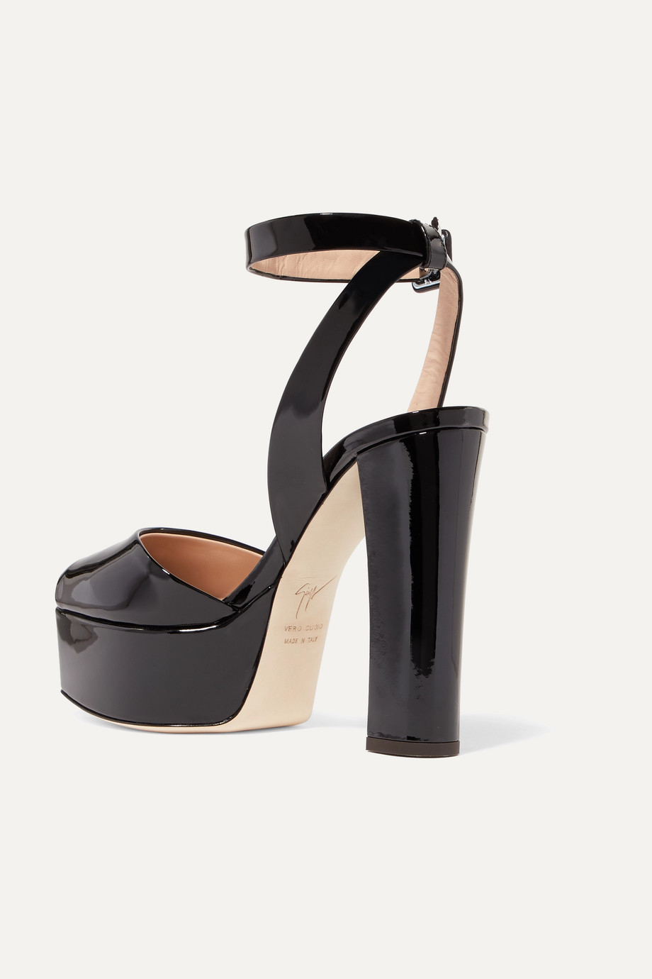 5296fe69e8b4 Giuseppe Zanotti Betty patent-leather platform sandals