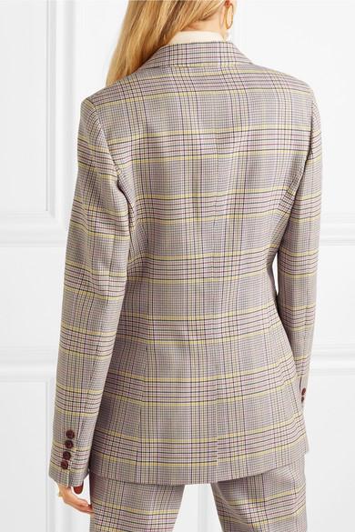 c0124f992db0d Gabriela Hearst. Sophie plaid wool-blend blazer