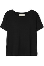 calé Amalie ribbed stretch-modal jersey T-shirt