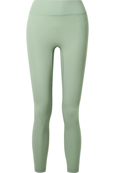 ALL ACCESS Center Stage Stretch Leggings in Mint