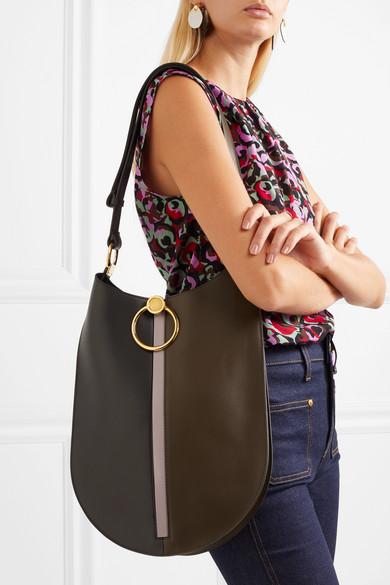 Earring Leather Shoulder Bag
