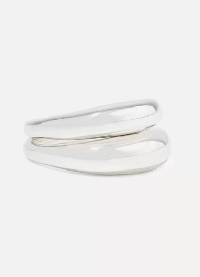 SOPHIE BUHAI SET OF TWO SILVER RINGS