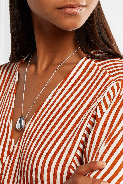 Sophie Buhai Egg silver necklace