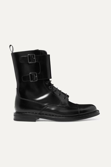 STEFY LEATHER ANKLE BOOTS from NET-A-PORTER