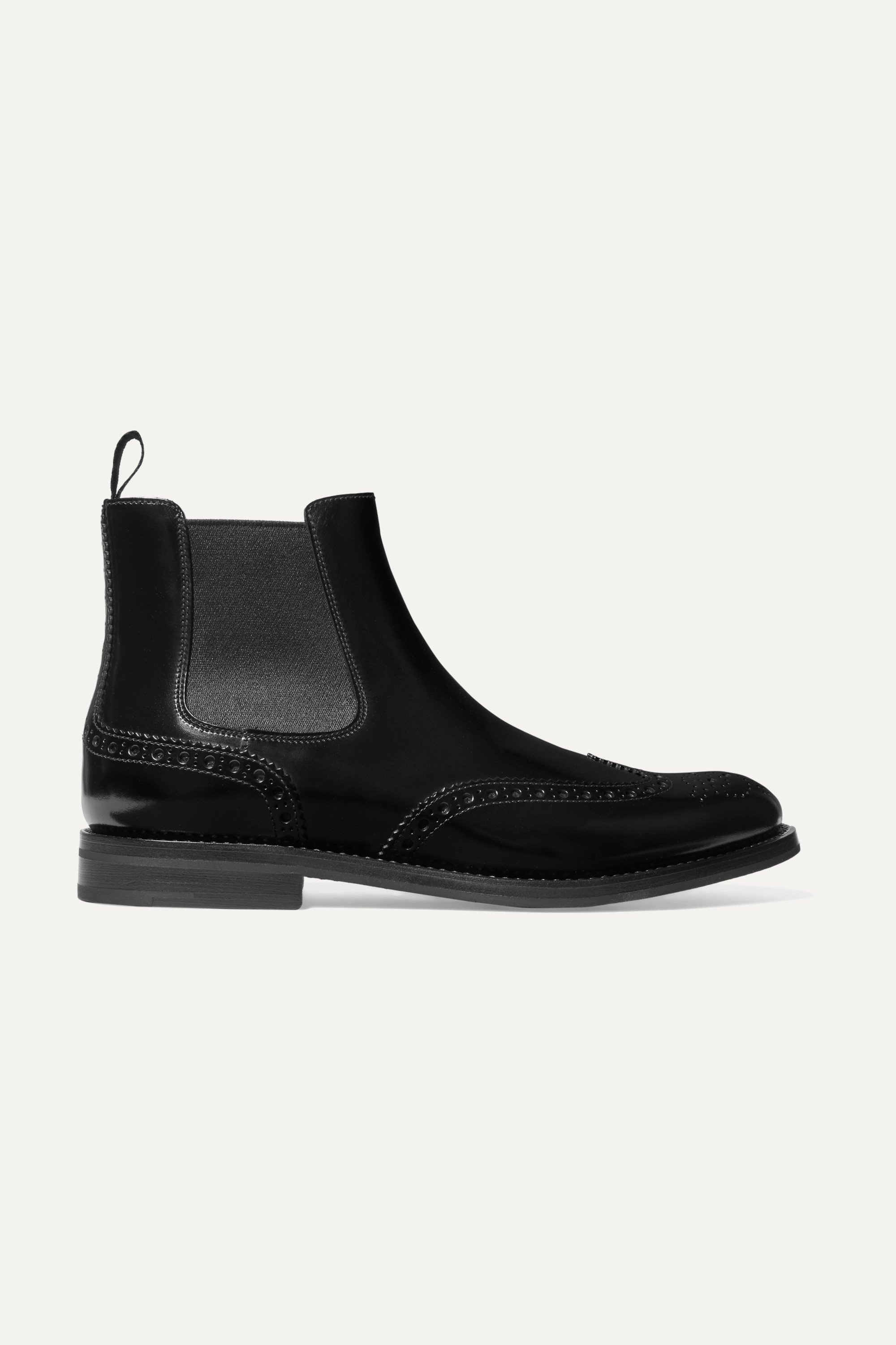 Church's Ketsby glossed-leather Chelsea boots