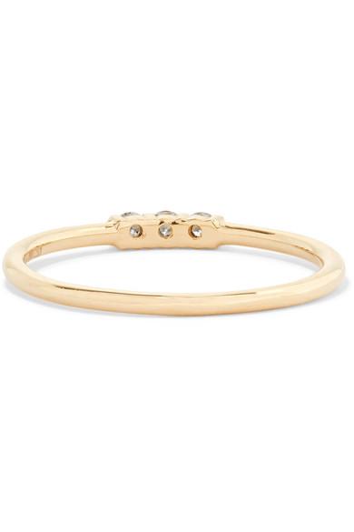 Jennie Kwon Designs Equilibrum 14-karat Gold Diamond Cuff Dw1pt4d