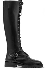 Tabitha Simmons Alfri lace-up leather knee boots