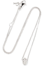 Possession 18-karat white gold diamond necklace