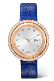 Possession alligator, 18-karat rose gold diamond watch