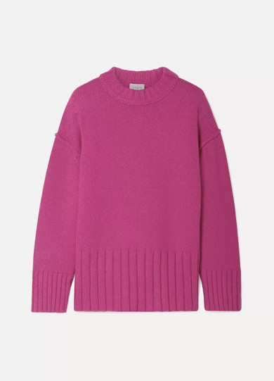 Fritz Oversized Knitted Sweater by Jason Wu Grey