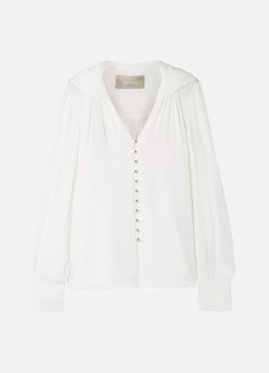 Jason Wu - Silk-georgette Blouse - White