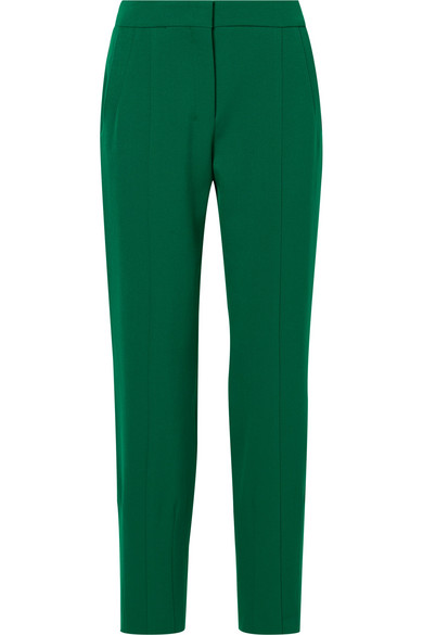 Narciso Rodriguez - Slim-leg Wool Pants - Green
