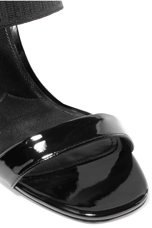 Prada 95 patent-leather sandals