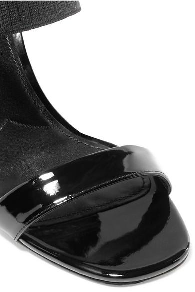 Prada | Sandalen aus Lackleder Lackleder Lackleder 9d70f0