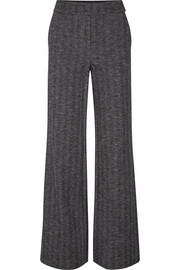 Talbert herringbone wool-blend straight-leg pants