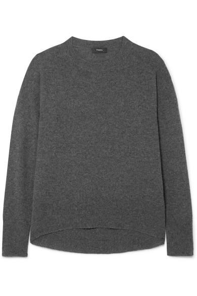 Theory - Karenia Cashmere Sweater - Charcoal