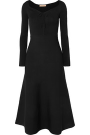 Brock Collection Kaia stretch-knit and jersey midi dress