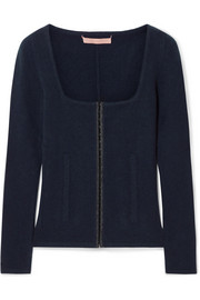 Kennedy wool and cashmere-blend sweater
