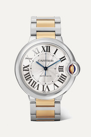 Ballon Bleu de Cartier Automatic 36.6mm 18-karat gold and stainless steel watch