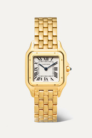 Panthère de Cartier 27mm medium 18-karat gold watch
