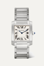 Cartier Tank Française medium 25.05mm stainless steel watch