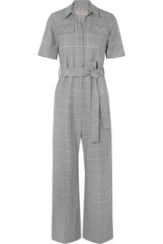 Checked cady jumpsuit