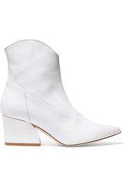 Dylan patent-leather ankle boots