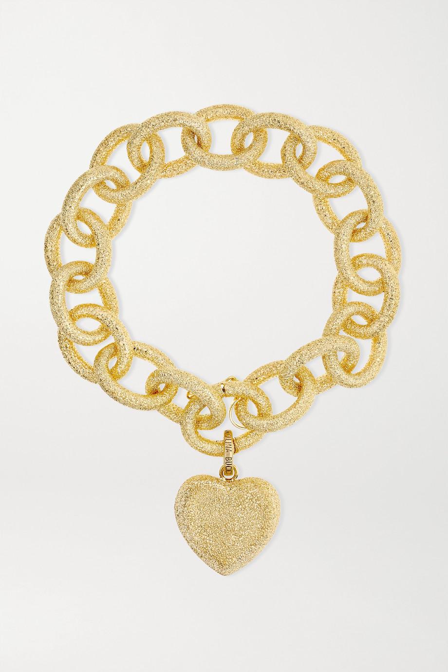 Carolina Bucci Florentine 18-karat gold bracelet