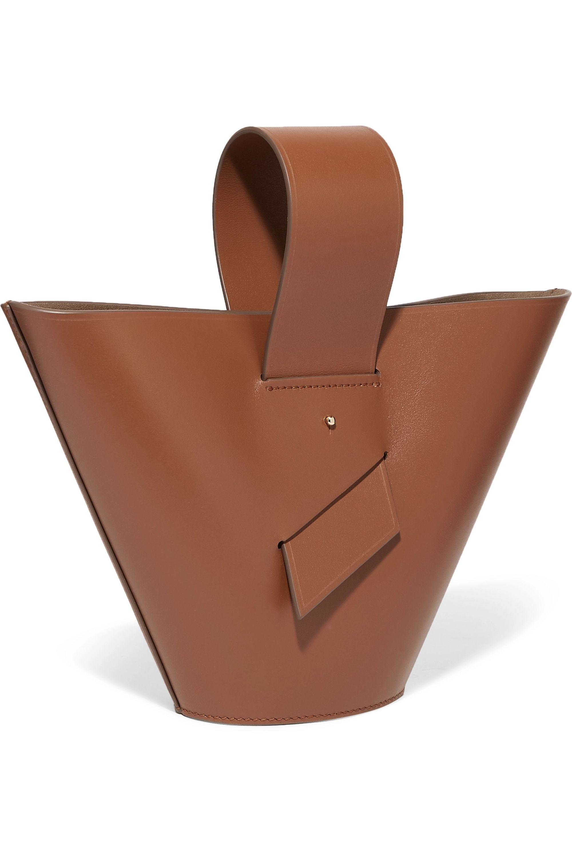 Carolina Santo Domingo Amphora leather tote