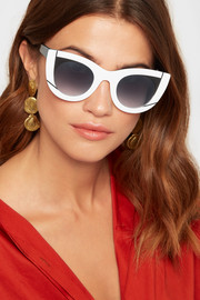 WAVVVY 000 cat-eye acetate sunglasses