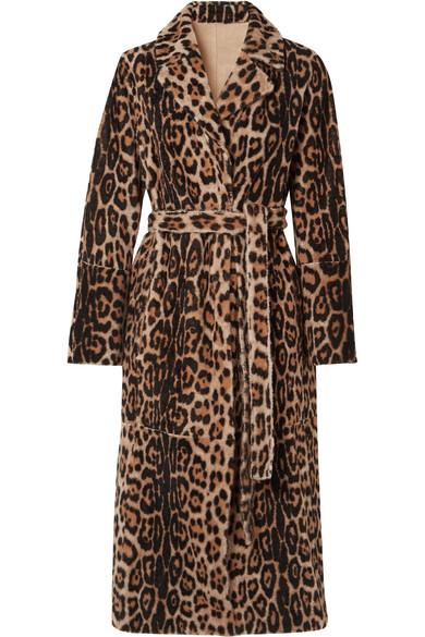 Yves Salomon - Lacon Reversible Leopard-print Shearling Coat - Leopard print