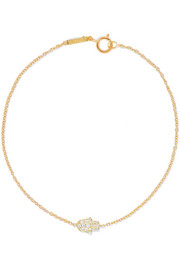 Jennifer Meyer 18-karat gold diamond bracelet
