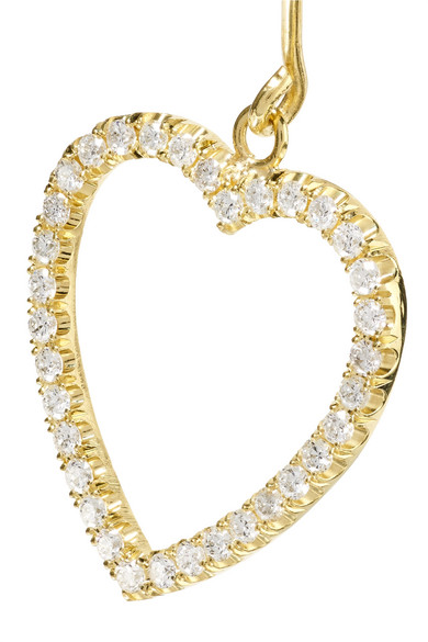 Jennifer Meyer Open Heart 18-karat Gold Diamond Ring SFKnVZKQ