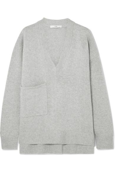 e10fd0912a4c74 Tibi | Oversized asymmetric cashmere sweater | NET-A-PORTER.COM