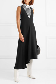 Tibi Crepe midi dress