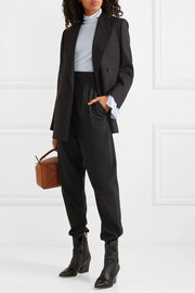 Tibi Yasmeen crepe tapered pants