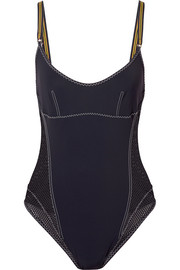 Stella McCartney Mesh-paneled swimsuit
