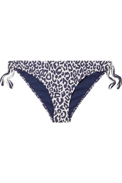 Stella Mccartney Bikinis Leopard-print bikini briefs