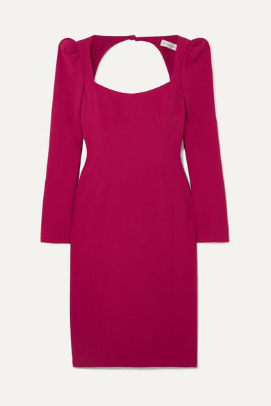 REBECCA VALLANCE Briar open-back crepe dress