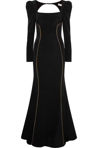 Rebecca Vallance - Ivy Crepe Gown - Black